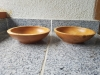 Maple wood bowls