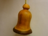 Cherry wood Christmas bell