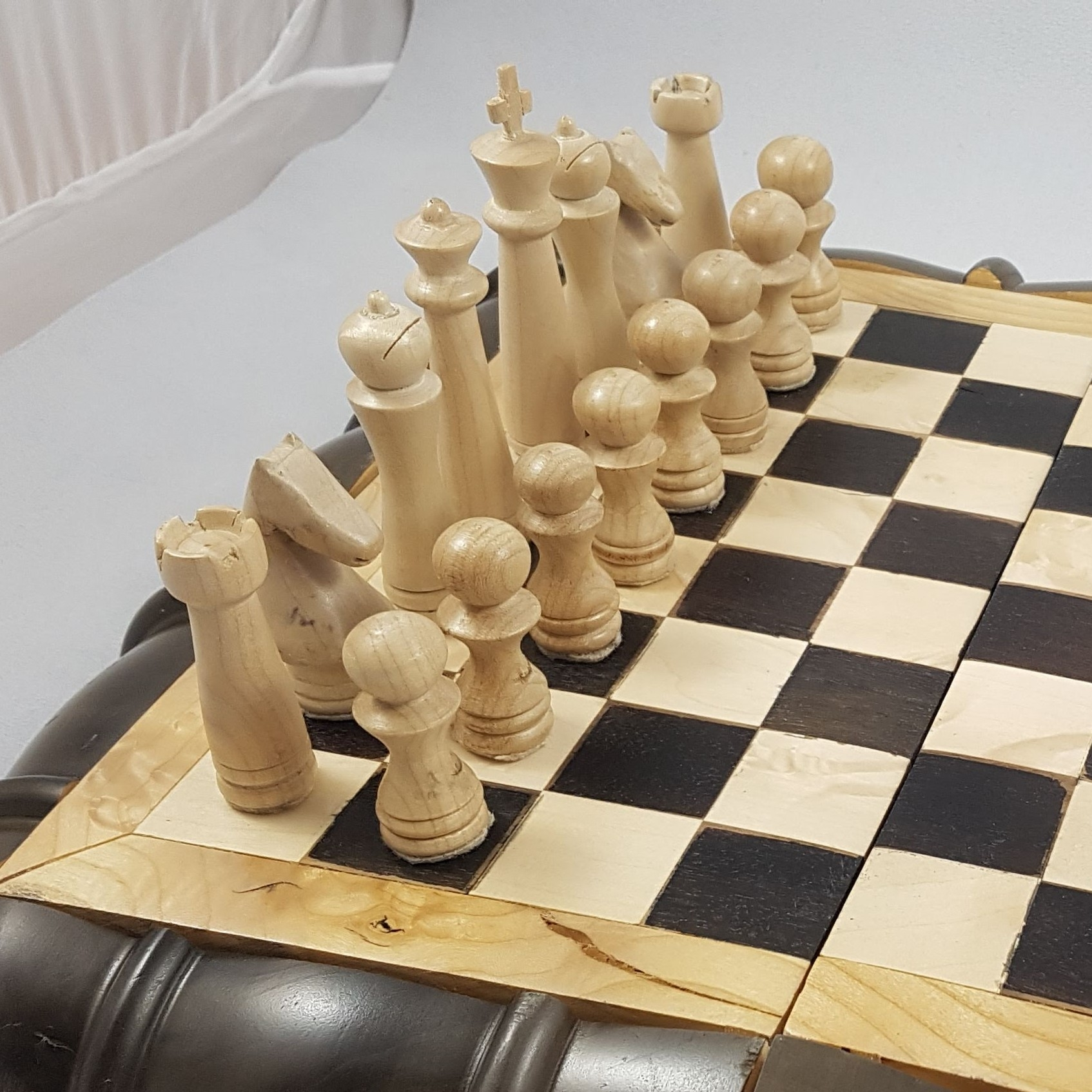 White chess pieces
