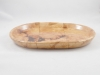 Oval tray side view