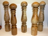 group-of-pepper-mills