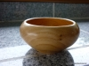 cherry wood bowl - closed form