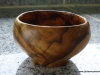small apple wood bowl