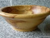 spalted walnut wood bowl  - 2