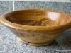 spalted walnut wood bowl