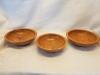 Cherry wood bowls