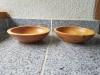 Maple wood bowls