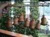 Cherry wood bells