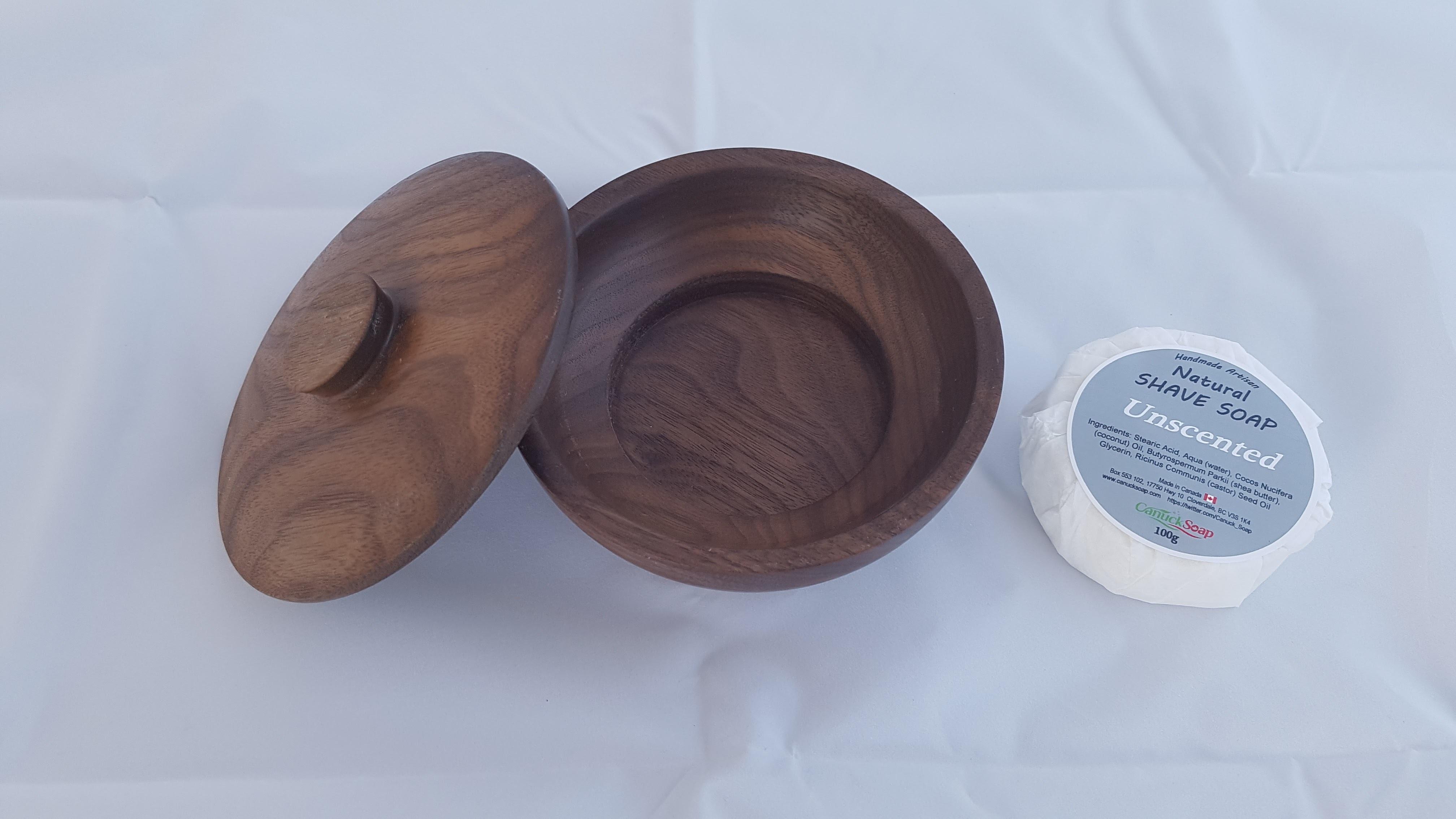 Walnut wood Shaving bowl